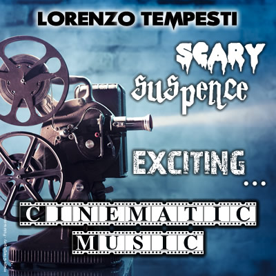 CD Scary, suspence, exciting… cinematic music